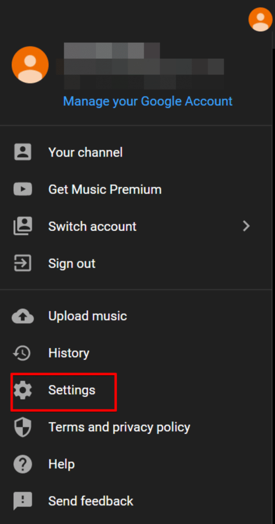 Transfer Google Play Music to YouTube music using a Web browser