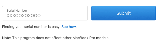 check if your MacBook Pro's battery is affected